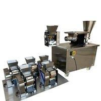 Heißer Verkauf Ravioli Maschine Pelmeni Samosa Empanada Gebratene Knödelmaschine Edelstahl Dumplink Wrapper Maschine 4800pcs / h