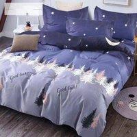 2020Luxury Bed Linen Cotton Set Bedding Sets Twin Full Queen King Size 3pcs Duvet Cover 1 pcs and pillowcase 2 pcs