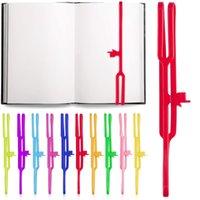 Silikonfinger Point Lesezeichen für Bücher 8 Zoll Farbe Elastische Gummibelle Buchmarke Lesen Seitenhalter Büroschule