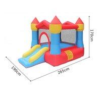 Funny Family Use Inflatable Castle Slide Price Garden Supplie Kids Playing Center Bounce House Moonwalk Bouncer Jumper Home Castles Indoor