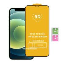 9D 강화 유리 화면 보호기 iPhone 12 11 Pro Max XR XS 7 8 삼성 갤럭시 A01 코어 A11 A12 A21 A31 A41 A41S A51 A71 유리
