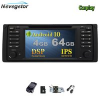 X5 E53 E39, Android 10 GPS 네비게이션 스테레오 IPS 스크린 헤드 유닛 멀티미디어를위한 플레이어 자동차 DVD