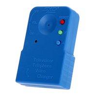 Mini portátil 8 multi multi trocador de voz azul microfone handheld vídeo de áudio micro
