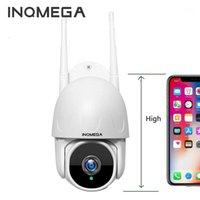 كاميرات Inqmega Mini 1 بوصة سحابة 1080P FHD PTZ Speed Dome Wifi Surveillance IP كاميرا في الهواء الطلق تتبع السيارات اللاسلكية