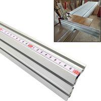 Conjuntos de herramientas de mano profesional Aluminio 75 mm altura Mitre Track T-canción STOP Soporte deslizante Conector de valla para carpintería Banco de trabajo