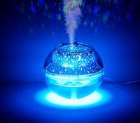 Duftlampen USB Kreative Home Bunte Projektionsluft Reinigung Luftbefeuchter Nachtlichtkristall Große Kapazität