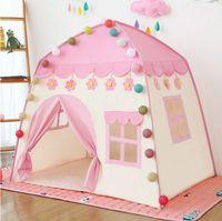 Jogar Crianças Tenda Crianças Indoor Princesa Princesa Castelo Dobrável Cubby Brinquedos Encante Quarto Casa Crianças Tenda Teepee Playhouse