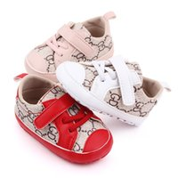 Babyschuhe Mode Leder Baby Freizeitschuhe Anti Slip Handmade Neugeborene Jungenschuhe Erste Wanderer 0-18Monate