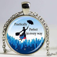 Mary poppins fantasy girl image necklace necklace handmade jewelry