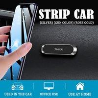 YESIDO C55 Мини-стриптиз-форма Магнитный автомобиль Держатель телефона Стенд Настенный металлический магнит GPS автомобильный держатель для ключа и всех смартфонов