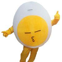 2019 fábrica caliente nuevo huevo mascota disfraces personaje de dibujos animados adulto sz