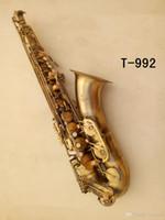 Nuovo woodwind Yanagizawa T-992 Tenor Sax di alta qualità BB Tenor Saxophone Strumenti musicali in ottone antico