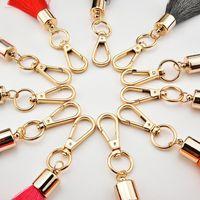 1 pcs moda 4 camada de seda borlas de seda franja diy vestuário de jóias suprimentos decorativos handbag pingente artesanato borla tassel h jllslt