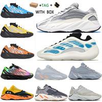 kanye west  boost 700 v1 v2 v3 2021 MNVN Wave  shoes chaussures yecheil scarpe shoes 3m white black reflective mens women sneakers wave runner 700