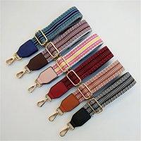Farbige Gurtbeutel Strap Zubehör Für Frauen Regenbogen Einstellbare Schulteraufhänger Handtasche Riemen Dekorative Griffbeutel 120x3.8cm