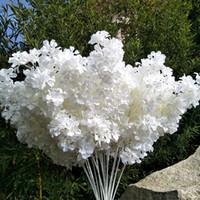 95cm Seide Blume Zweig Drifting Schnee Gypsophila Künstliche Blumen Kirschblüten Hochzeit Bogen Verzierung Gefälschte Blume