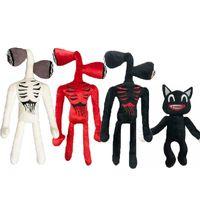 2021 Peluche dossier peluche poupée poupée d'horreur chat noir chat peluches jouets pour enfants cadeau de Noël