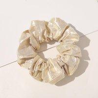 Frauen Faux Seide Solide Scrunchies Dame Einfache Elastische Stirnbänder Satin Haarband Mädchen Hirsches Haar Krawatte Haarseil Haarschmuck Q SQCXGD