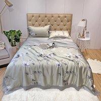 Set di biancheria da letto 42 Tencel 489 / 0.6pcs Coperta Summer Quilt Comforter Bed Cover Quilting Home Tessili Adatto per adulti e bambini