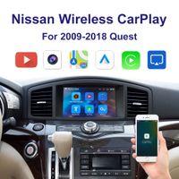 Автомобильный беспроводной CarplayAndroid Автоматический адаптер для 2009-2018 Nissan Quest Multimedia iPhone Android Беспроводной Karlife Kit