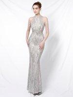 YORDEZSS NEW Щеда вечеринка вечернее платье элегантное от плеча длинное вечернее платье с длинным плечом 201114