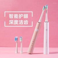 Spazzolino da denti elettrico per adulti ricaricabile Adulto Sonic Sbalush Spazzolino impermeabile Assistente per la cura