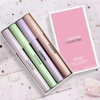 Four Pack Cadeau Coffret Portable Parfum Solide pour garçons Filles Douturant Fresh Light Fragrance Séjour de parfum de parfum de bâton solide portable