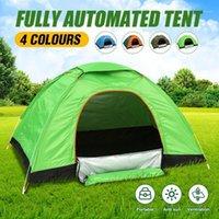 4 colori Impermeabile tende pieghevoli edilizia gratuita Apertura automatica Apertura rapida Viaggio all'aperto Tenda da campeggio Beach Sun Shelter1