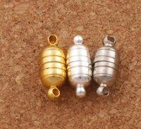 Ожерелье магнитного магнита Clasps серебро / позолота для ожерелья украшения