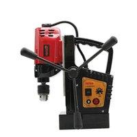 Professional Electric Brocas Multifuncional Broca Magnética Bancada de Máquina de Perfuração Governante Base de Rotação Positiva e Negativa PR-801