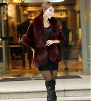 2021 Yeni Faux Fox Kürk Şal kadın Ceket Kürkler Tavşan Kürkler Vizon Cloak Gelinlik Sarar Aksesuarları
