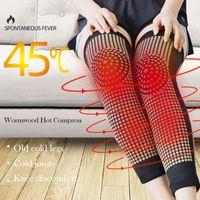 Ellenbogen-Knie-Pads 1 Pair-Punkt-Matrix-Self-Heizungs-Brace-Sport-Kniead-Tourmalin-Unterstützung für Arthritis-Gelenkschmerzlinderung
