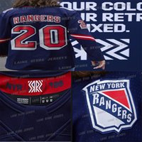 New York Rangers Jersey 2020-21 Retro Retro 13 Alexis Lafreniere 24 Kaapo Kakko 10 Artemi Panarin 93 Mika Zibanejad 23 Fox Hokey Jersey