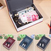 Javrick Mini Home Security Diccionario Book Safe Cash Jewelry Almacenamiento Caja de bloqueo Caja caliente W1219