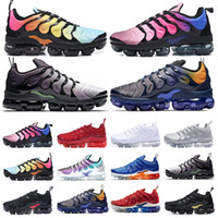 nike Vapormax Tn plus air max Meilleur TN Plus Chaussures De Course Hommes Femmes Laine Gris Jeu Royal Tropical Sunset Creamsicle Designer Baskets Chaussures De Sport Taille 36-45