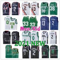 Los Leonard Angeles 2 Kawhi Basketball-Trikots 8 Kemba 0 Tatum Walker Jayson Paul 13 George Gordon Jaylen Hayward Brown Marcus 36 Smart