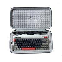 Protezione di stoccaggio Caso della scatola del sacchetto di shell hard per Durgod Fusion 68-Key Bluetooth 20% Keyboard meccanico1