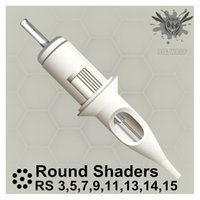 Bigwasp Standard Tattoo Agulha Cartuchos - Round Shaders 3/5/7/9/11/13/14 / 15RS 20123