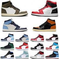 متعدد الألوان 1s ترافيس كرة السلة أحذية رياضية انك 1 أحذية سكوتس الأخضر الصنوبر شيكاغو رمادي سبج og الأعلى 3 وصول ليكرز الشراع المرأة