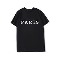 Diseñador de lujo Impreso T Shirts Moda Personalidad Hombres Diseño Camisa Camiseta de mujeres de alta calidad en blanco y negro S-XXL
