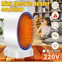 Smart Electric Heaters 220V 400W 800W Heater Portable Mini PTC Ceramic Heating Home Fan Handy Air Warmer Office Heat