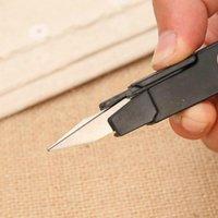 Fio de pesca beading clipper resistente mini ferramenta aço inoxidável tesoura tesoura prática costura bordado thrum scissors ppd3790