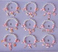 Мульти стили дети Лаки ювелирные изделия браслет Счастливые дети Милый подарок ювелирные изделия Unicorn жемчуг браслет Дети
