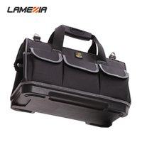 Lamezia سعة كبيرة أكسفورد القماش أداة حقيبة الأجهزة المنظم crossbody سفر مجموعة أدوات كهربائية نجار حقيبة يد حقيبة LJ201119
