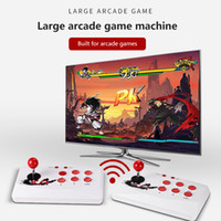 16 bits Arcade 2000 Consola de videojuegos 2.4G Gamepad inalámbrico HD Dos controlador Jugador de juegos de jugador de juego de mano