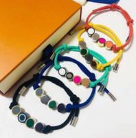 5 Цветов Узлы ручной работы Веревочный браслет Унисекс Браслет Мода Браслеты для Человек Женщины Ювелирные Изделия Регулируемые Браслет Мода Ювелирные Изделия
