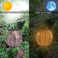 Discount Solar Light Control Automatique Induction Jardin Décoration Lampe Extérieur Étanche Étanche Jardin Retro Lampadaire Chaud Blanc Solaire