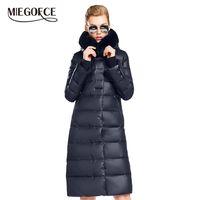 Miegofce kadın ceket ceket orta boy kadın parka bir tavşan kürk kış kalın ceket kadınlar yeni kış koleksiyonu sıcak 201214