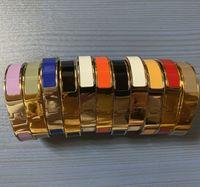 316L Titan stahl Methode Langcai H Buchstaben Armband Geeignet für Geschenk Manschette Armband Schmuck
