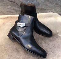 Elegant Design Design Kelly Neo Fibbie Caviglia Stivaletti Stivali da donna Bottiglie Party Abito da sposa Martin Boot Famoso Signora Winter Girl Girl Knight Boot